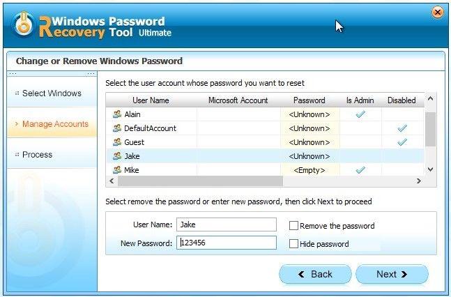 reset password 4