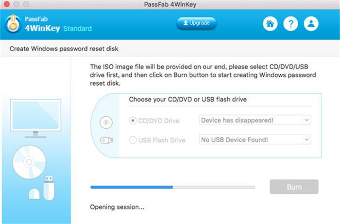 gravar cd de inicialização no mac