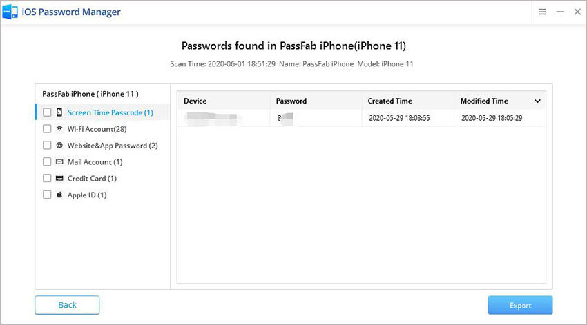 find screen time passcode passfab ios password manager guide