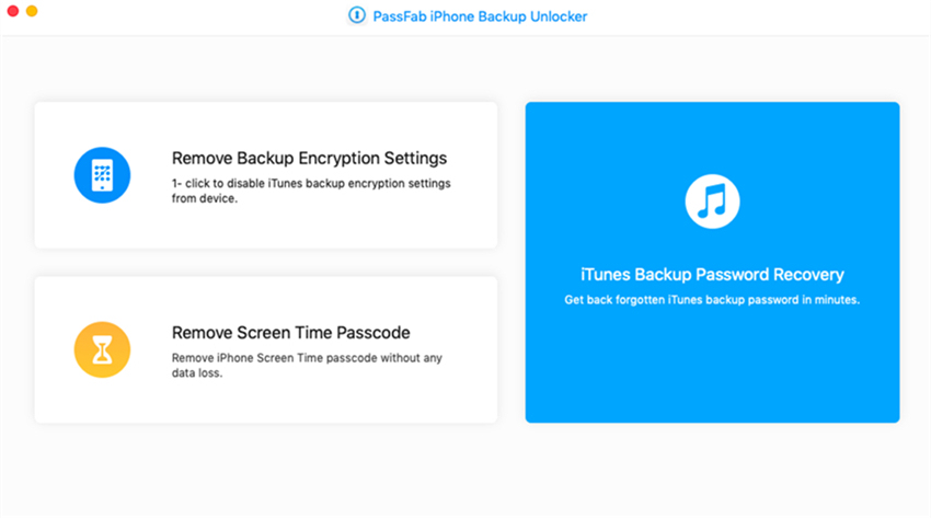 passfab iphone backup unlocker guide on mac
