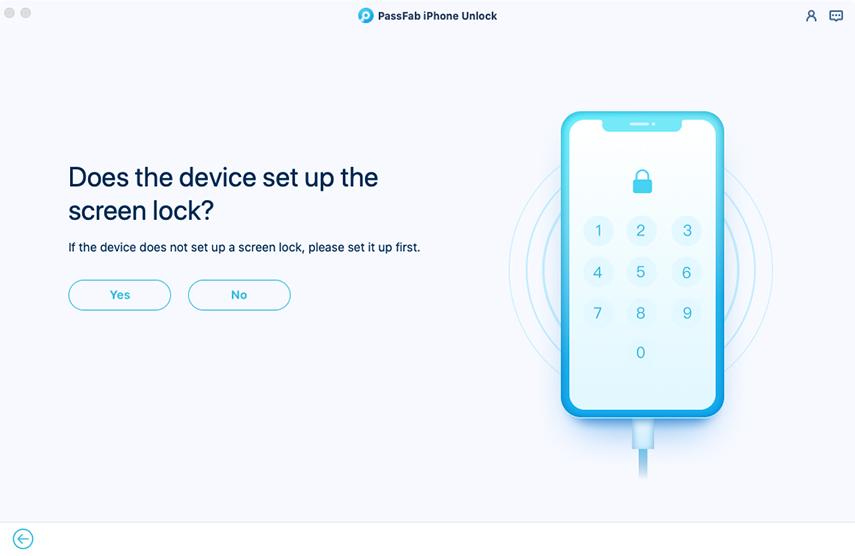 remove apple id successfully in passfab iphone unlocker for mac