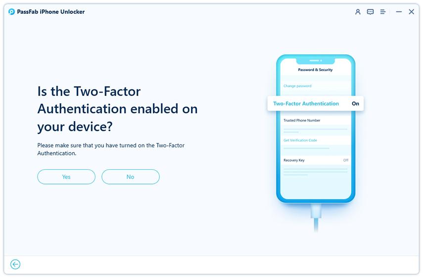 remove apple id successfully in passfab iphone unlocker