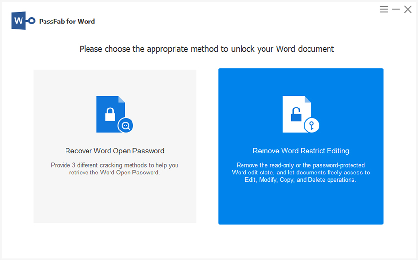 remove-word-restrict-editing