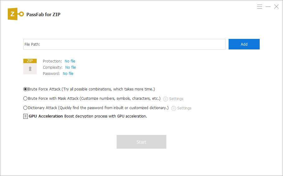 passfab for zip password recovery guide
