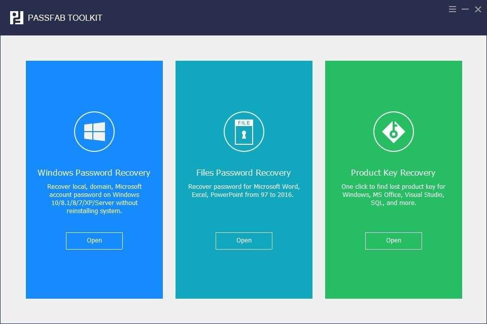 passfab toolkit