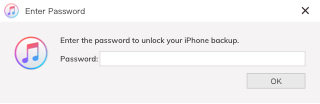 unlock iphone backup