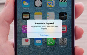 passcode expired using passfab iphone unlocker