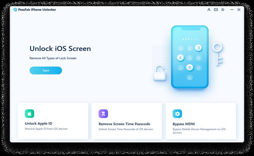 unlock ios screen