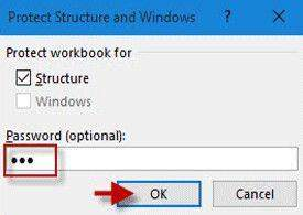 protect workbook excel windows