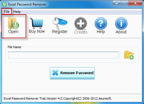forgot password encrypted excel file
