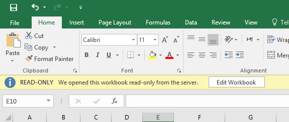 set password for excel doc