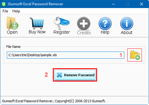 asunsoft excel password remover registration code
