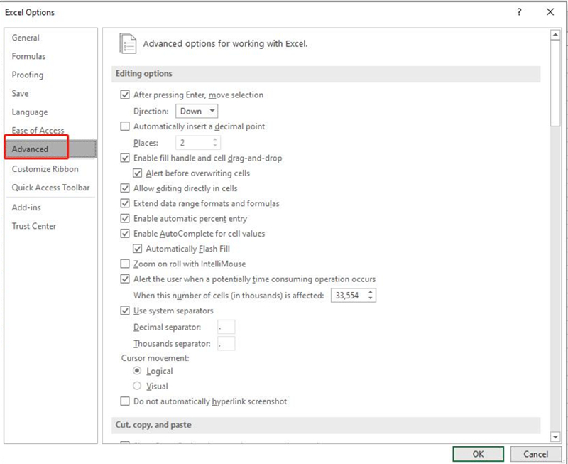 how to repair excel 2010 in control panel