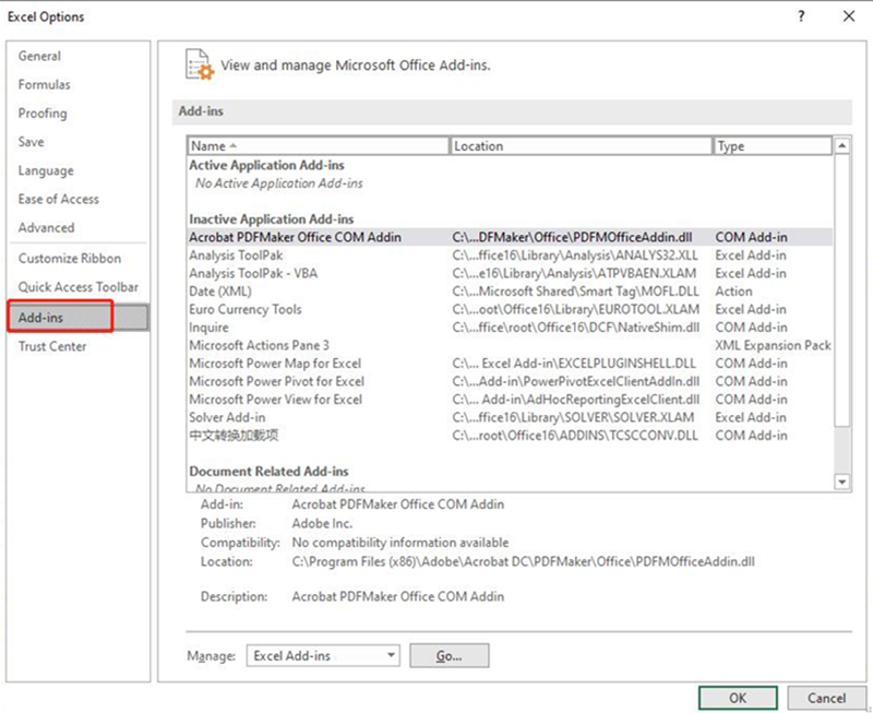 excel 2010 ignore other applications that use dynamic data exchange (dde)