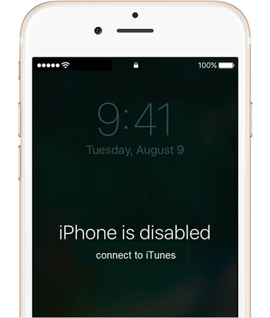 iphone è disabilitato connettiti a itunes
