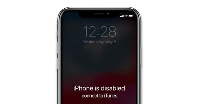 unlock disabled iphone without computer