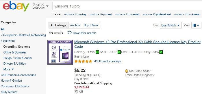 top 5 ways to find buy windows 10 pro key. Black Bedroom Furniture Sets. Home Design Ideas
