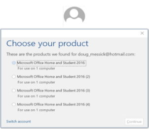 lost microsoft office product key mac