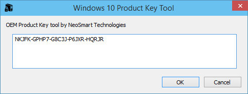 windows 10 product key free upgrade