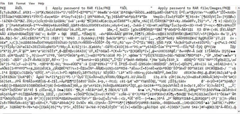How to Decrypt RAR File Password