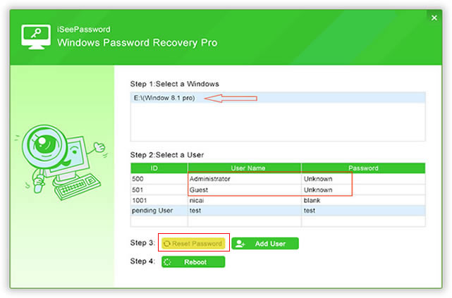 how to reset administrator password in windows 7 with cd