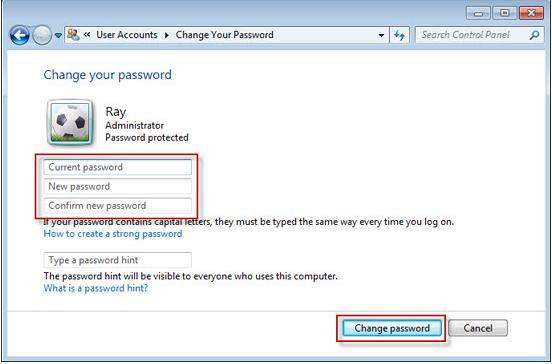 bypassing administrator password windows 7