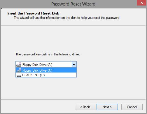 How to Reset Windows 8 Password with USB