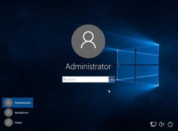 vedere la password Amministratore usando cmd