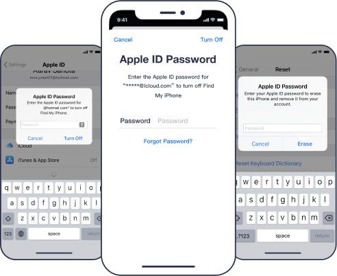 forgot apple id password using passfab iphone unlocker